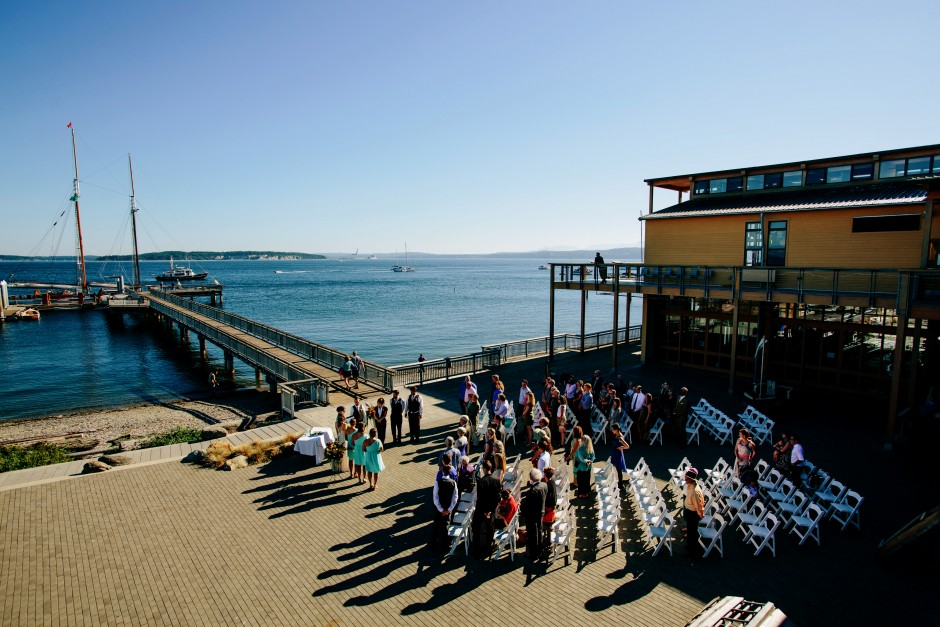 Outdoor space for ceremonies