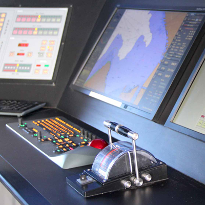 Pilothouse Simulator at the Northwest Maritime Center