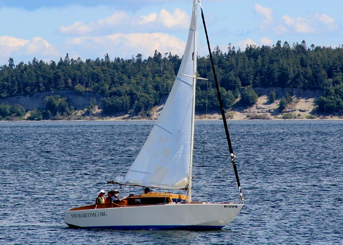 Learn to Sail maritime program at the Northwest Maritime Center in Port Townsend