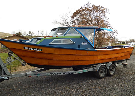 Designer Jim Stanley Design Dory Type Power Description A Northwest 26ft Lapstrake Constructed From All Mahogany And Teak Totally Restored