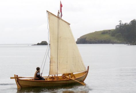 Build a viking faering boat at the Northwest Maritime Center