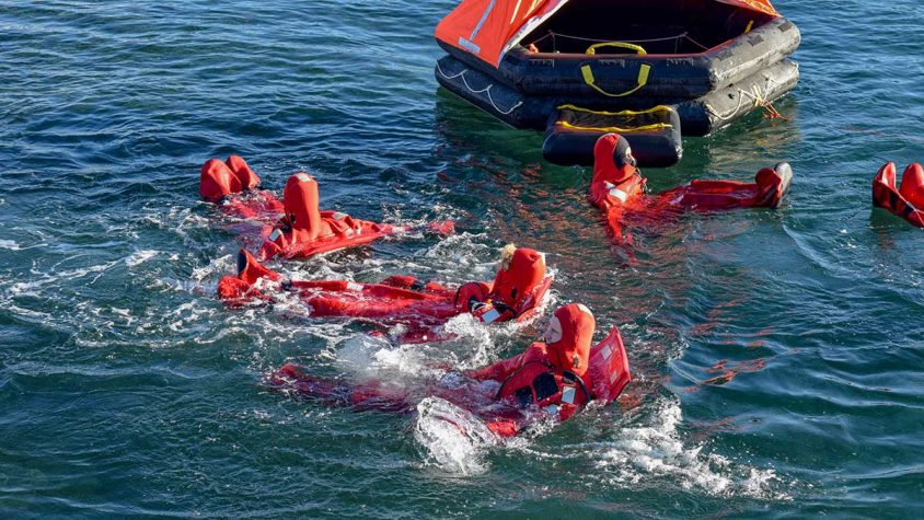Port Townsend Maritime Academy Skills Center Overboard Training